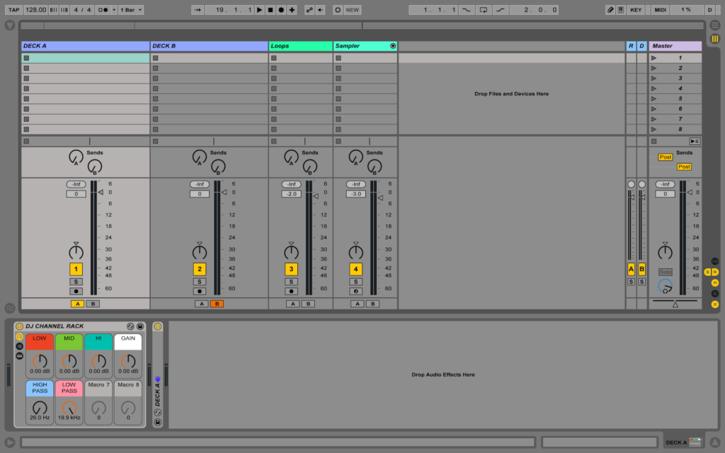 DJ Template for Ableton Live [Free download] – GROOVE DEALERS